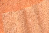 Handgeverfd mohair oranje, 23cm x 70cm_4