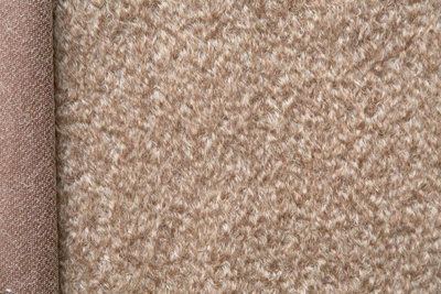 Eenmalige Schulte mohair, kort bruin, 21cm x 140cm